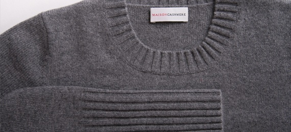 crew neck women sweater rib