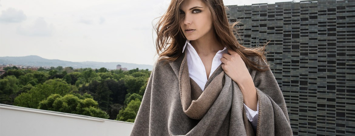 women's cashmere cape