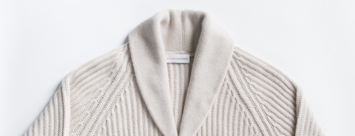 chunky cardigan details
