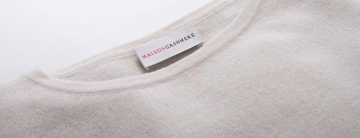maxi pullover mit rundhalsausschnitt aus cashmere maisoncashmere. Black Bedroom Furniture Sets. Home Design Ideas